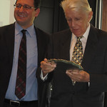Prof. Dietrich Kappeler honoured during the Persuasion Seminar