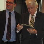 Prof. Dietrich Kappeler honoured during the Persuasion Seminar