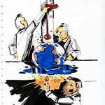 Climate Change Conference - caricature